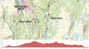 mosjøen maraton kart