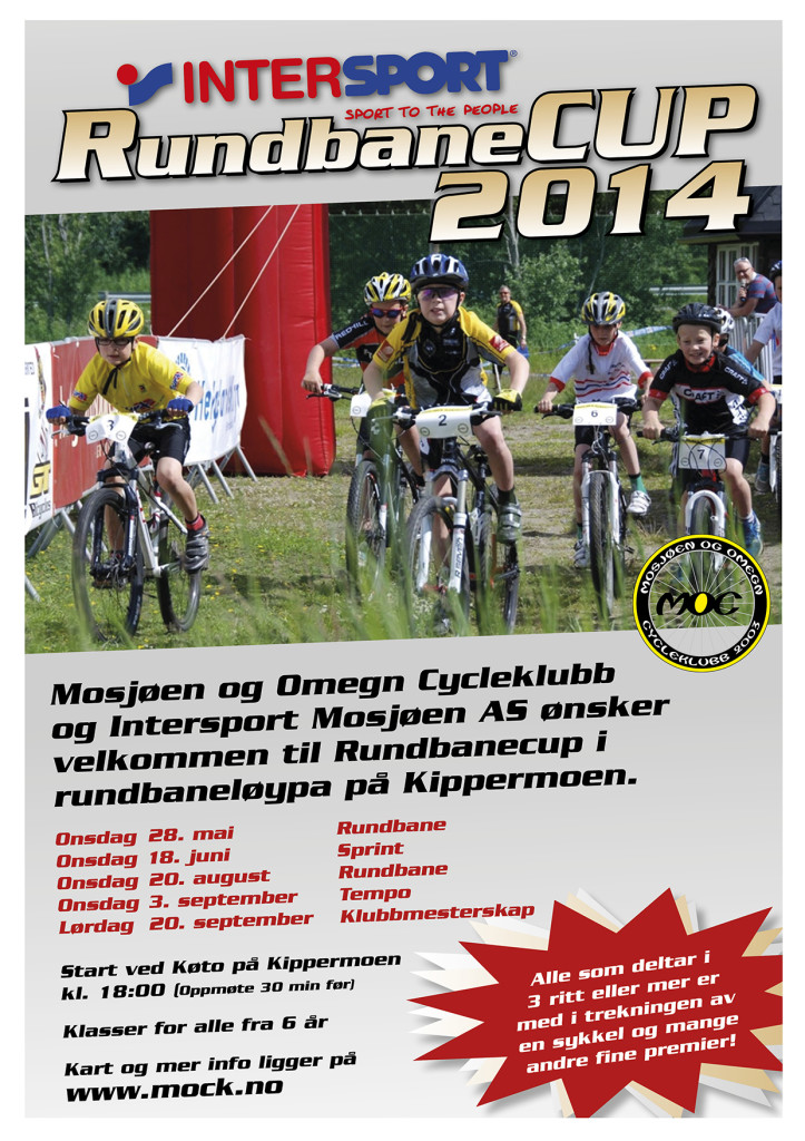 A3 plakat Rundbanecup
